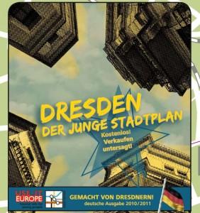 Die Titelseite des deutschen USE-IT Stadtplanes 2010/2011