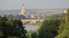 view to Dresden