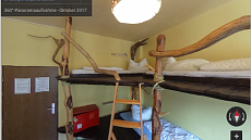 wooden room | 5-bed dormitory