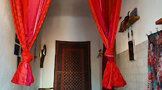 India double room door