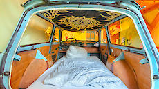 Trabbi double room lower bed